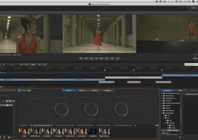 4K映像制作を現実に#02 : SpeedGrade CCを使ったカラーグレーディング